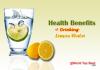 lemon water benefit