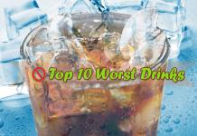 worst drinks